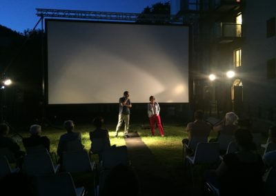 Shocking Pink Endorphins_Evening as guests of the Euganea Film Festival