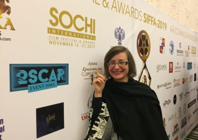 Sochi International Film Festival&Awards, Sochi, Russia, November 2019