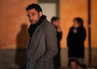 Walter Cordopatri in one scene of the film