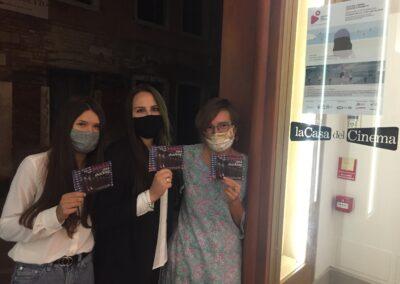 Shocking Pink Endorphins_Gloria Trentin and Melissa Terzi, logo designers for IED Venezia