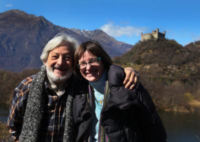 Leo Gullotta e Laura Aimone