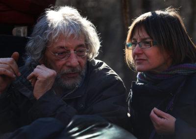 Angelo Santovito e Laura Aimone